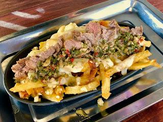 Chimichurri fries at Garlic Shack