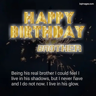 Brother Birthday Wishes Pics with quotes