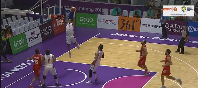 Jordan Clarkson's NASTY Alley-Oop Slam vs Syria (VIDEO)