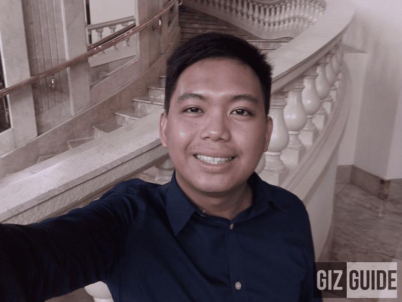 Selfie in good lighting condition