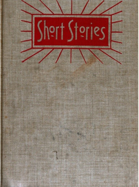 Short Stories cover of bound volume from 1890