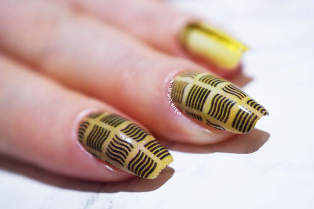 Espionage Cosmetics Supreme Being Fifth Element Nerdy Sci-fi Nail Wraps