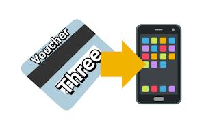 Cara memasukkan voucher three