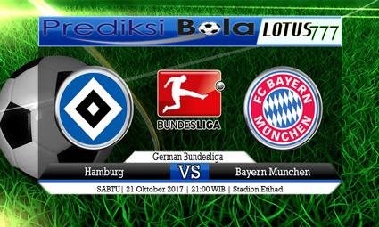 Prediksi Pertandingan antara Hamburg vs Bayern Munchen Tanggal 21 Oktober 2017