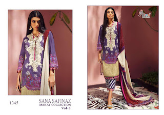 Shree Fab Sana Safinaz Mahay Collection vol 3 pakistani Suits