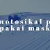 MOTOSIKAL PUN PAKAI FACE MASK..