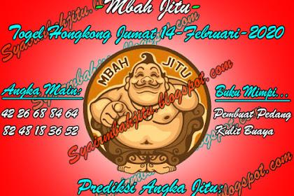 Syair Mbah Jitu Togel Hongkong Jumat 14 Februari 2020
