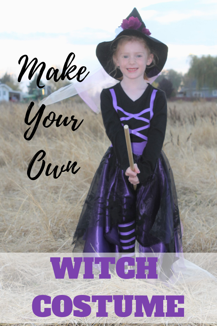 Make A Homemade Witch Costume Gyct Designs