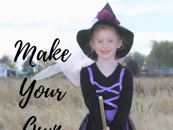 Make a Homemade Witch Costume