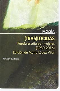 (Tras) Lúcidas : poesía escrita por mujeres (1980-2016) / edición, selección y prólogo de Marta López Vilar.