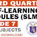 GRADE 7 - 3rd Quarter MODULES (SLM - ADM)