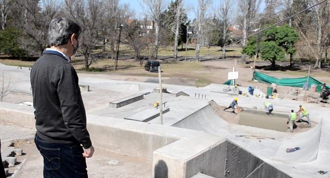 """Emir Félix en el Parque de los Jóvenes: """"No tengo dudas que será otra gran atracción para sanrafaelinos y turistas"""""""