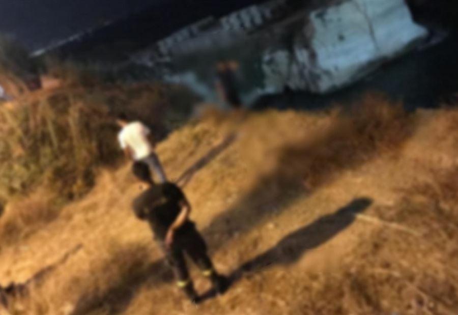 بالصور: شاب حاول الانتحار مقابل صخرة الروشة