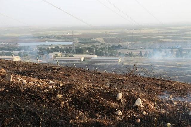Bozova'da iki günde iki yangın