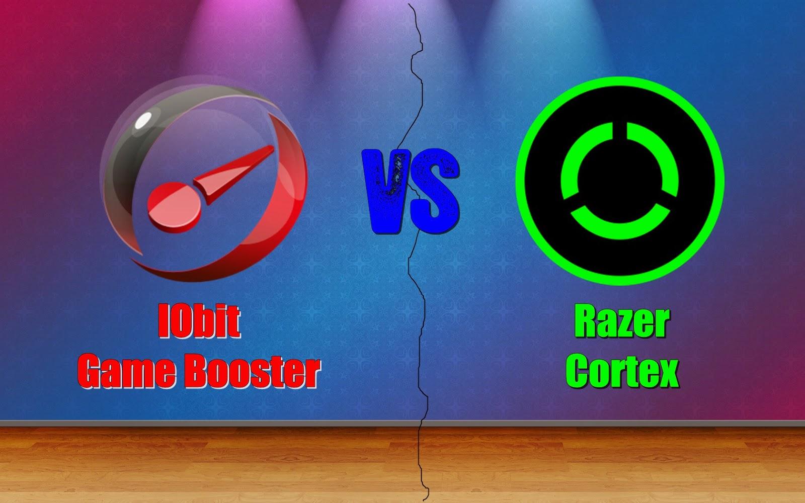 perbedaan IObit Game Booster dan Razer Cortex