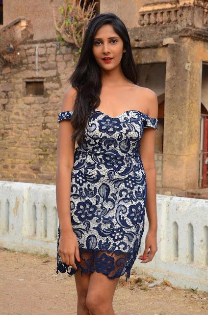 Mahima Kothari Telugu Actress Hot Photos in Deep Neck Short Dress Actress Trend