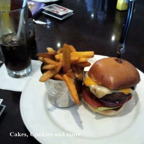 Cheeseburger im Hard Rock Cafe London