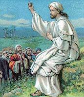 Jesus Teaching his disciples