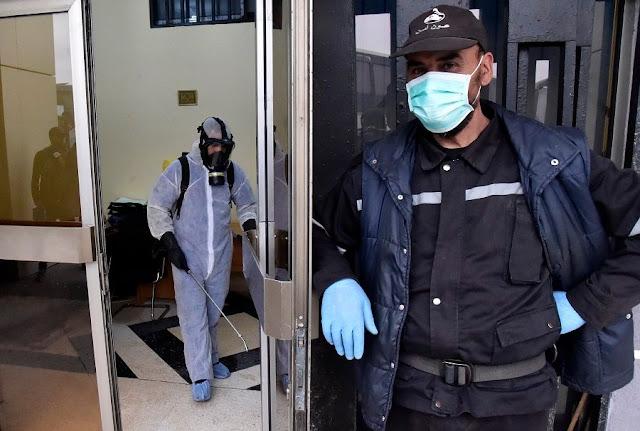التلفزيون الجزائري الرسمي :عدد الإصابات بكورونا يرتفع إلى 82 حالة، فيما عدد الوفيات ثمانية