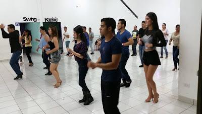swing con klave, blue dance academy,diego araya