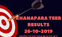 Khanapara Teer Results Today-26-10-2019