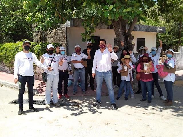 Gestionaré más recursos para comisarías de Mérida: Oscar Brito
