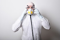 Ospedali tuta protettiva virus