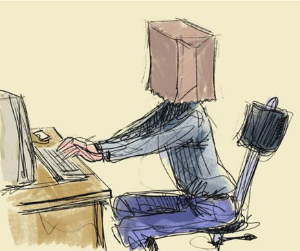 إخفاء اسم الكاتب والتسميات من داخل موضوعات مدونات بلوجر