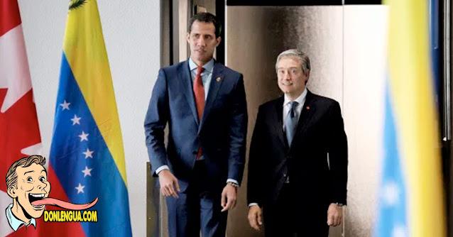 Canciller de Canadá se reunió con Jua Guaidó para apoyar la lucha contra el régimen