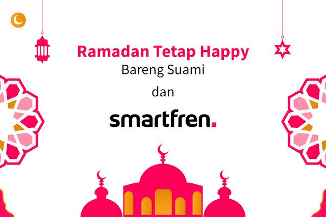 Ramadan Tetap Happy Bareng Suami dan Smartfren
