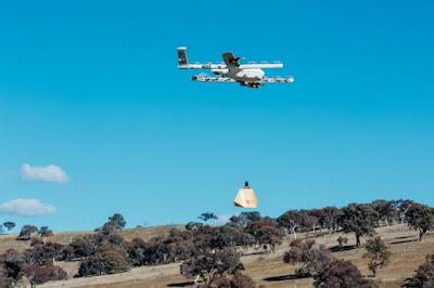 Agência de aviação dos EUA libera empresa do Google para fazer entregas com drones