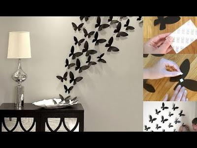 Cara Membuat Hiasan Dinding Kamar Buatan Sendiri dari Kertas Kado