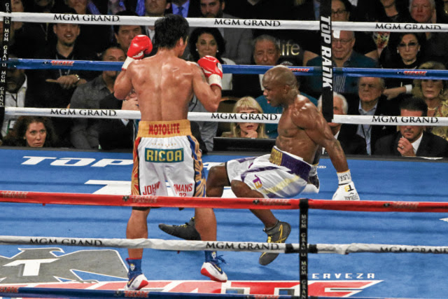 Manny Pacquiao Was Wearing These Pair Of Shoes During His Fight With Timothy Bradley! Shocking!