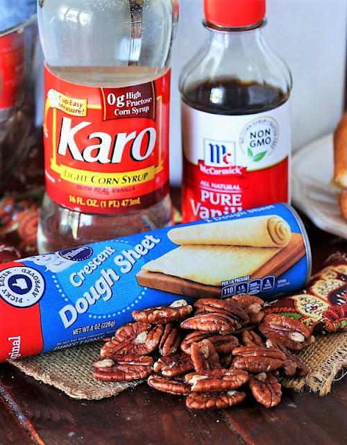 Crescent Pecan Pie Squares Ingredients Image
