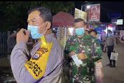 Cegah Penyebaran Covid-19, Polrestabes Makassar Patroli Bubarkan Warga Berkerumun