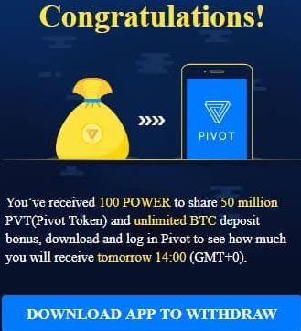 Download Pivot Earning Apk- Pivot Table / Bit Coin/ Earn Daily / Daily Power Apkpure2