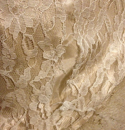 how to fix snagged lace