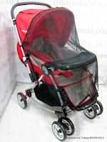 2 Kereta Bayi BabyDoes CH362 Crusader dengan 3 Layer Canopy