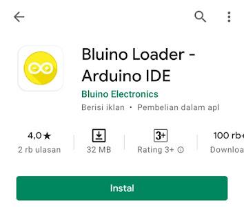 memprogram arduino menggunakan android