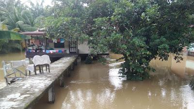 Korban Banjir di Langkat Belum dapat Bantuan Pemerintah