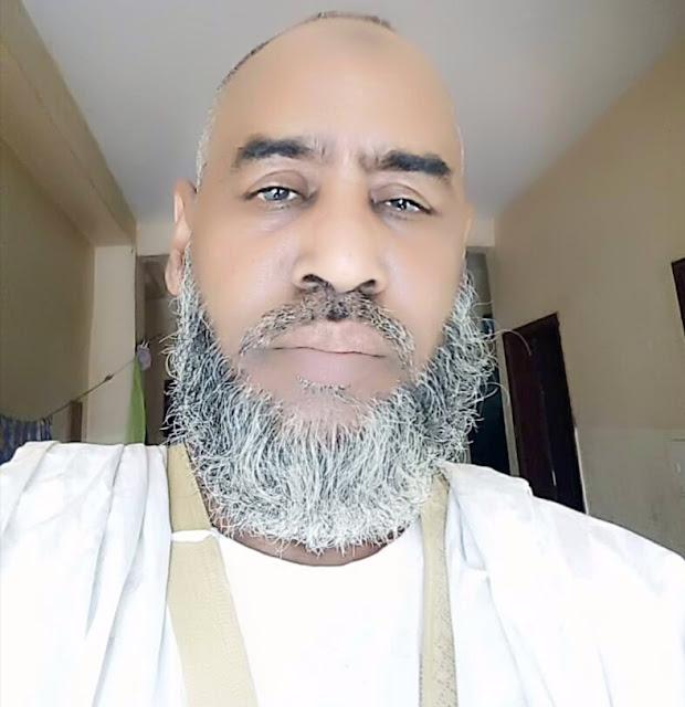 """إمام جامع نواذيبو العتيق يعزي في وفاة عمدة """" الفلانيه """""""