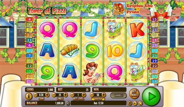 Main Gratis Slot Indonesia - Tower of Pizza Habanero