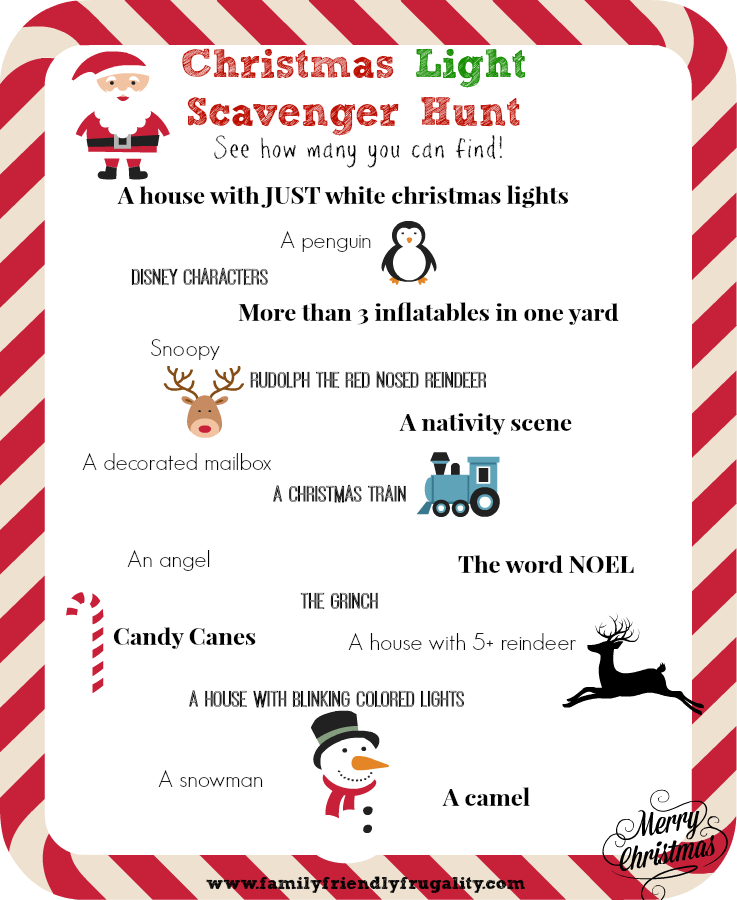 Christmas Gift Scavenger Hunt Riddles: The Seal Bark: Advent Activities