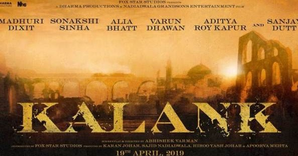 Kalank Full Cast Crew Story Release Date Trailer: Kalank 2019: Movie Full Star Cast & Crew, Story, Release