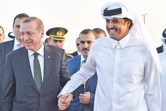 Erdogan aprova lei de envio de militares turcos para Qatar