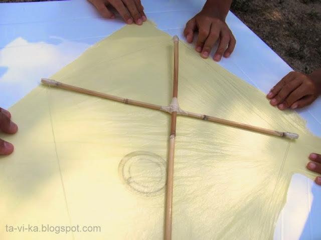 как сделать воздушного змея мастер-класс