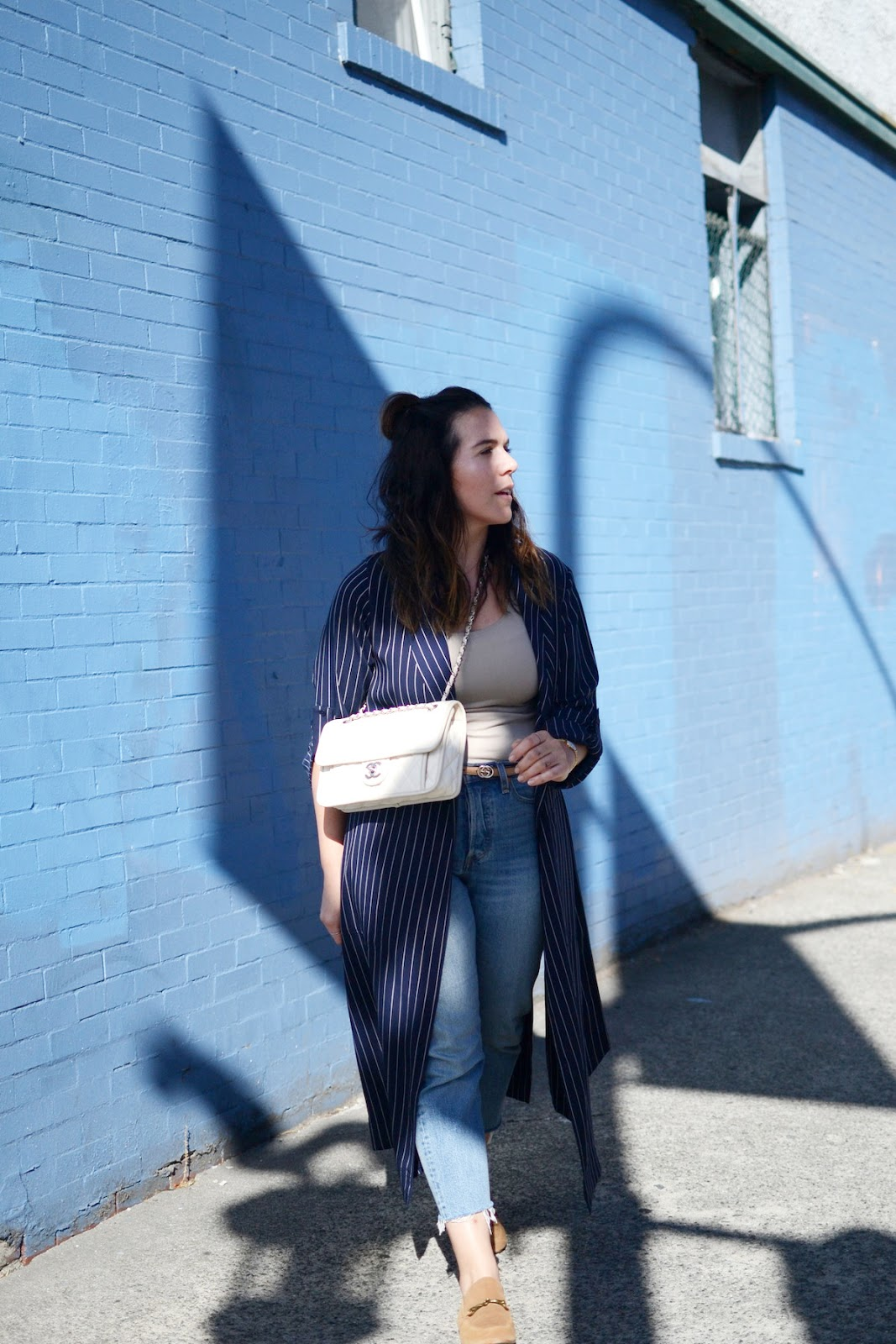 aritzia kahlo jacket vancouver fashion blogger chanel french riviera flap bag aleesha harris