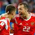Rússia bate Egito e fica perto da classificação na Copa