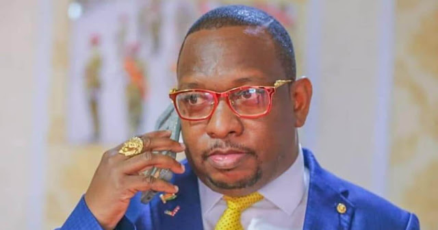 Nairobi Governor Mike Sonko open leader photos document