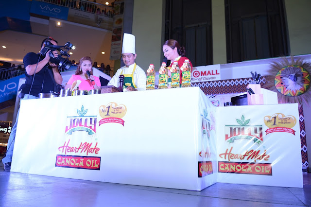 Chef Donita Rose shares her Jolly Heart Mate recipes at the 31st Kadayawan Festival